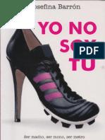 Yono No Soy Tu - Josefina Barron