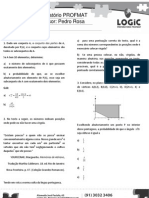 LOGIC - Preparatório PROFMAT aula 12 - Probabilidade