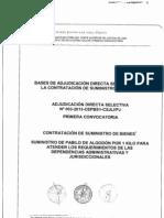 Bases +Suministro de +Pabilo 160713