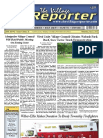 The Village Reporter - July 31st, 2013