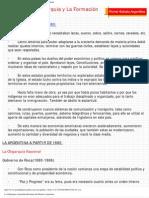 La Oligarquia Argentina Resumen de Historia Argentina