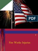 Fire Works Injury