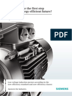 Induction Motor energy classification