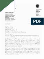 June 2013 Skid Row/LA County Health Dept. Report