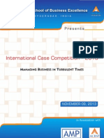ICBM's International Case Competition 2013