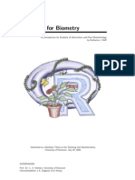 R-Manual for Biometry