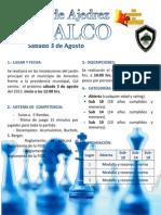 Torneo de Ajedrez - AMEALCO