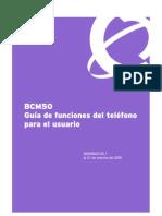 funcionesbcm50sp