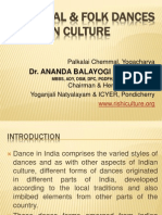 Indian Classical and folk dances