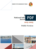 Tonga National Infrastructure Investment Plan 2013-2023