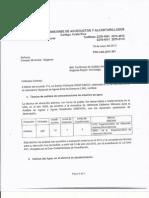 Certificado de Calidad Del Agua en Bagaces