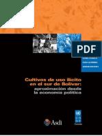 Cultivos de Uso Ilicito en El Sur de Bolivar. Aproximacion Desde La Economia Politica