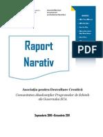 Raport Narativ ADC Oct 2011