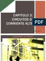 CIRCUITOS Y MAQUINA ELÉCTRICAS - CLASE 6 - CIRCUITOS DE CORRIENTE ALTERNA