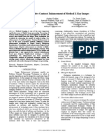 Region Based Adaptive Contrast Enhancement of Medical X-Ray Images