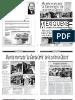Versión impresa del periódico El mexiquense  31 julio 2013