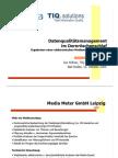 Medienresonanzanalyse Datenqualitätsmanagement