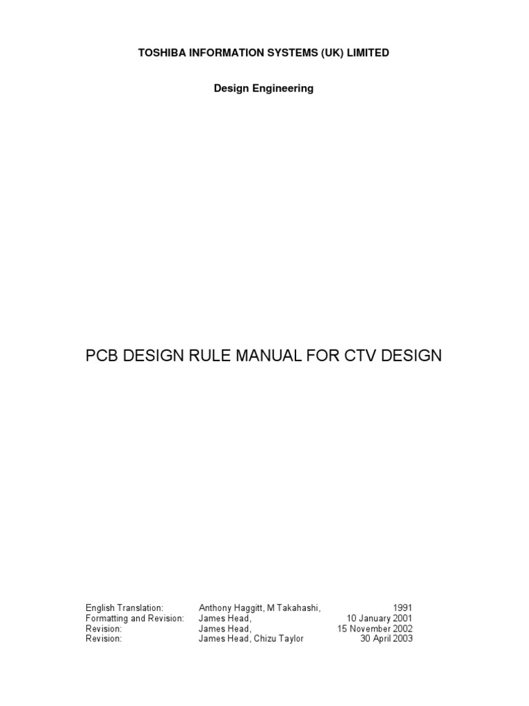 Toshiba Pcb Design Manual For Colour Tv Printed Circuit Or Singlesided Copper Clad Fr4 Epoxy Sheet Board Soldering