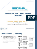 Securing Your Webserver by Pradeep Sharma
