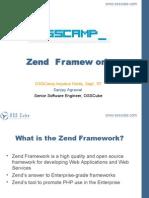 Zend Framework by Sanjay Aggarwal