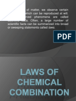 Basic-laws of Chemcombi