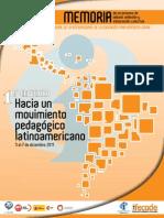 Hacia Un Movimiento Pedagogico Latinoamericano