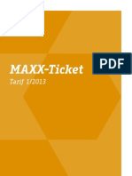 maxxticket 2013