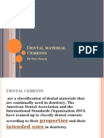 Dental Cements PDF
