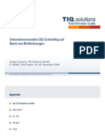 Unternehmensweites DQ-Controlling auf Basis von BI-Werkzeugen