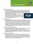 Retail Management Subject List