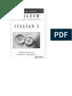 Italian I Booklet
