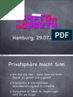 Cryptoparty - Hansjörg Schmidt