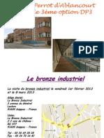 Coll Perrot d'Ablancourt Et Le Bronze Industriel