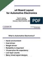 Automotive Circuit Board Layout