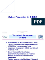 C-DAC Cyber Forensics