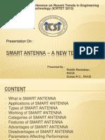 ICRTET-Smart antenna