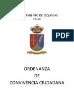 Esquivias Ordenanza Convivencia Ciudadana Pleno 4-4-2013