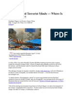 Inside Twisted Terrorist Minds