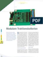 Modulare Traktionsbatterien, Esch, E-tek IV 2011
