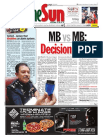 thesun 2009-05-22 page01 mb vs mb decision today