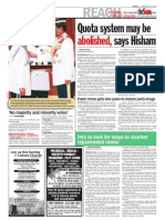 thesun 2009-05-22 page02 quota system may be abolished says hisham