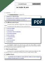 05CP - Les Modes de Pose