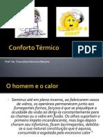 Conforto Térmico VERSÃO APRESENTAÇÃO.ppt