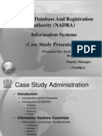 NAdra | Identity Document | Authentication
