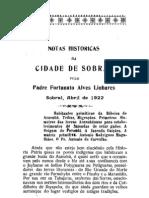 1922 NotasHistoricasdaCidadedeSobral IC