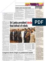 TheSun 2009-05-20 Page07 Sri Lanka President Declares Final Defeat of Rebels