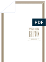 Digital Booklet - 2PM The 3rd Album 'GROWN' (Grand Edition)
