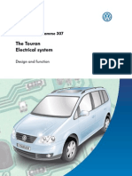 vw touran electrical system