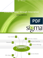 Sigma Corporate Presentation