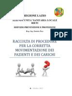 manuale movimentazione pazienti